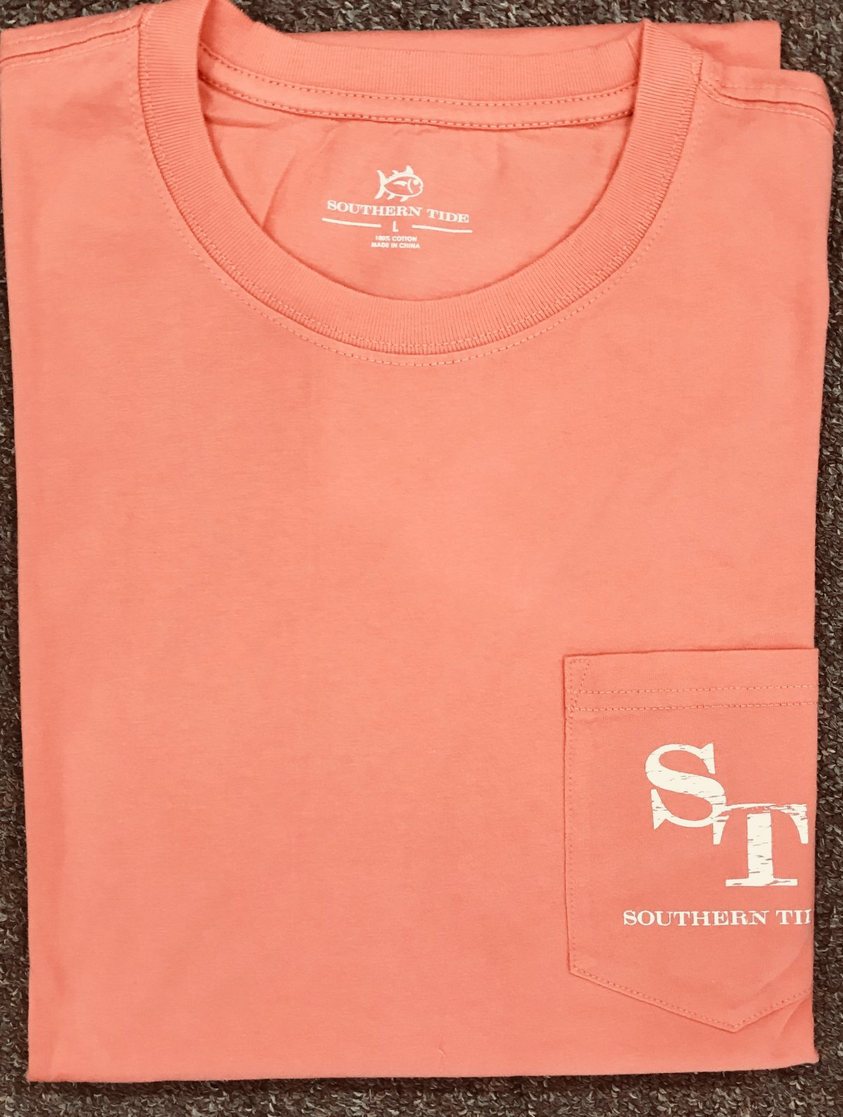 Southern Tide Fall 18 LS Skijack Outline T-Shirt