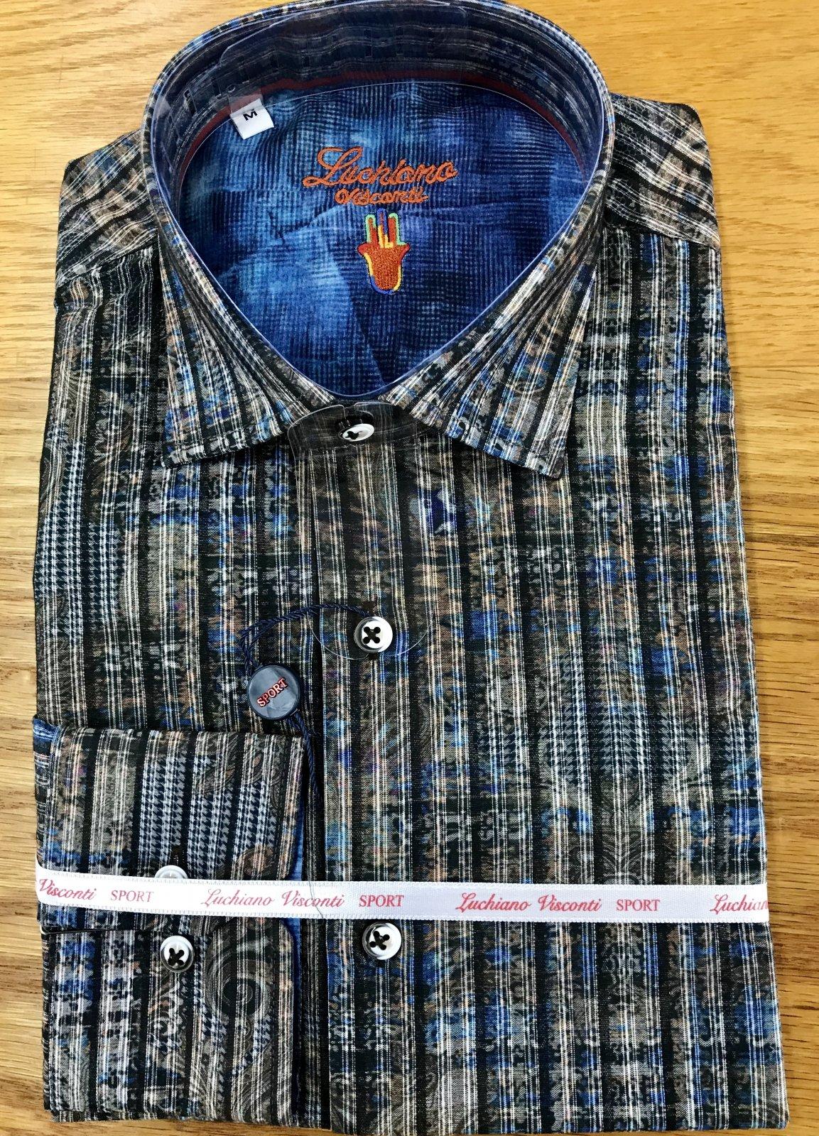 Luchiano Visconti LS Sportshirt 39111