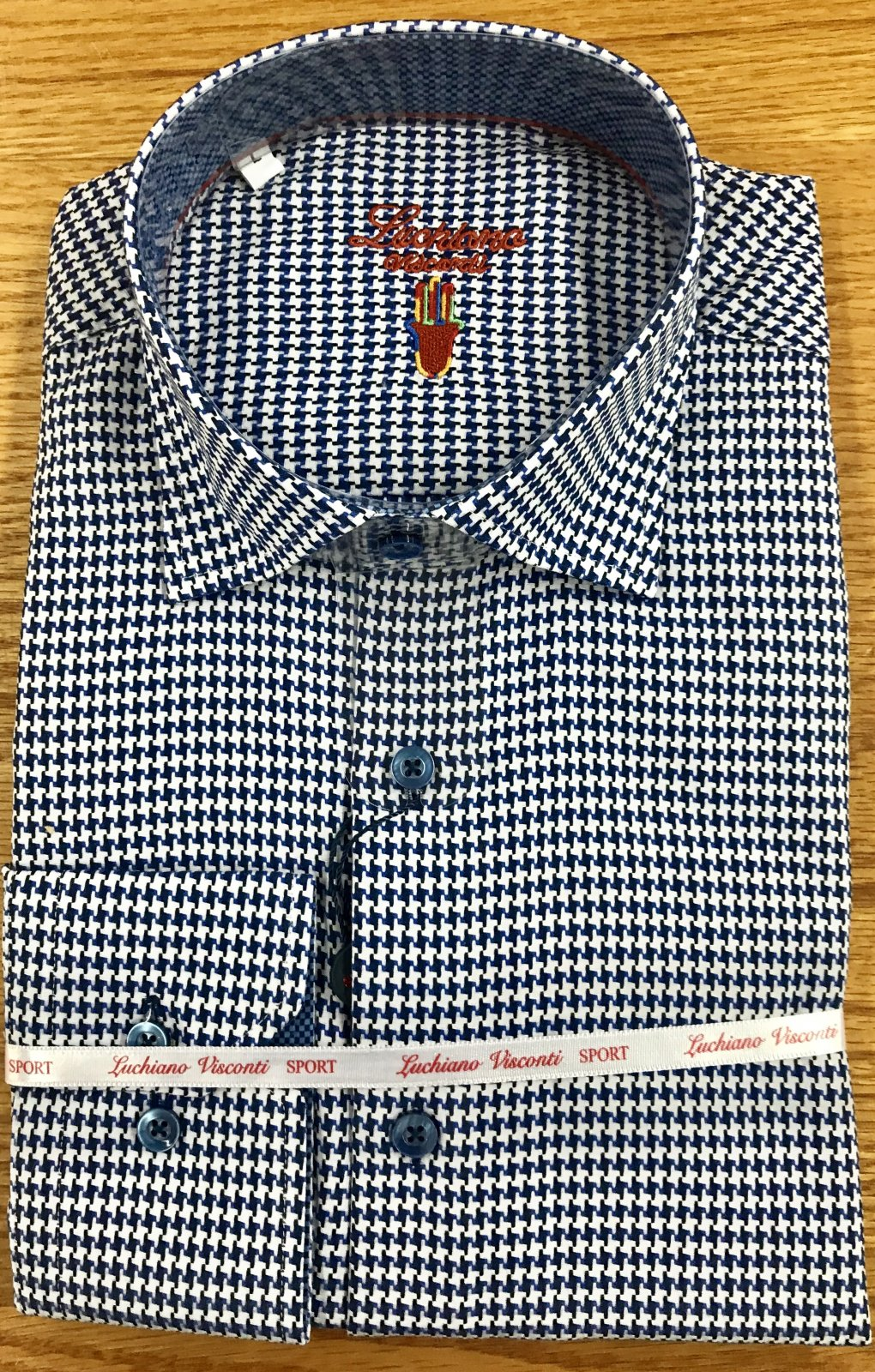 Luchiano Visconti LS Sportshirt 3952