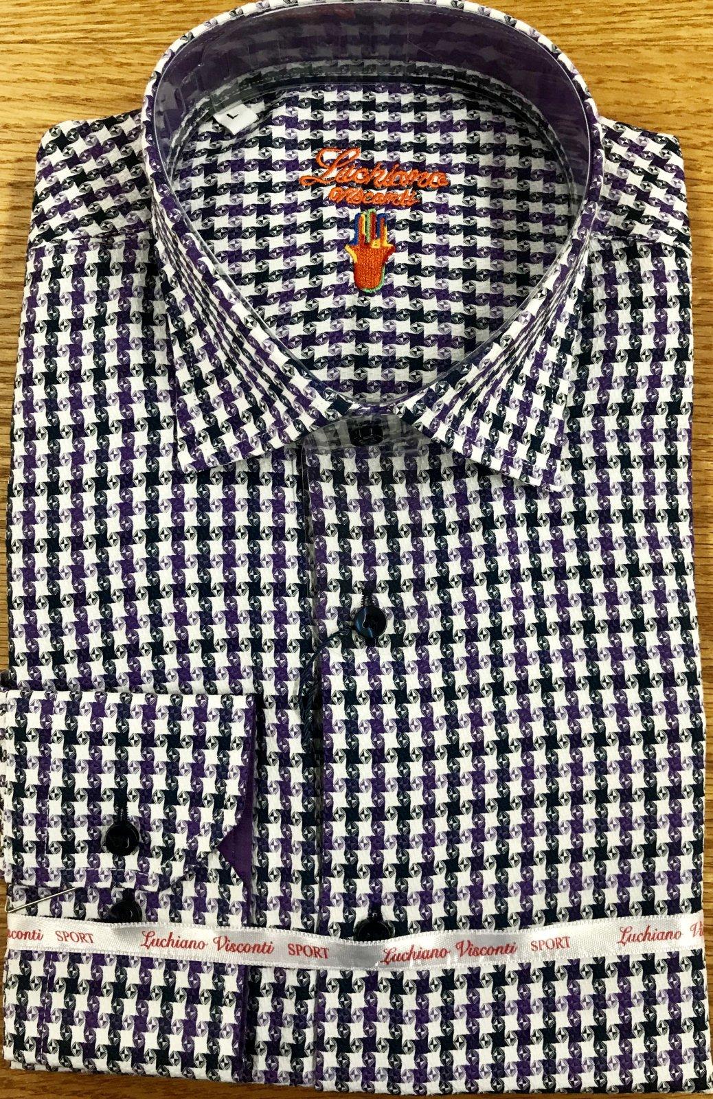 Luchiano Visconti LS Sportshirt 3957