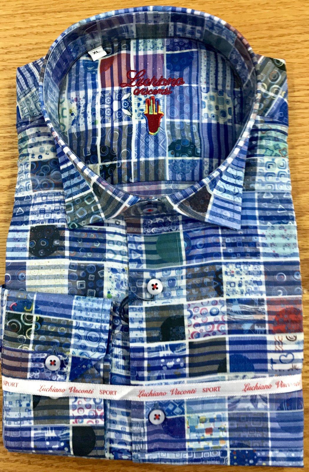 Luchiano Visconti LS Sportshirt 3966