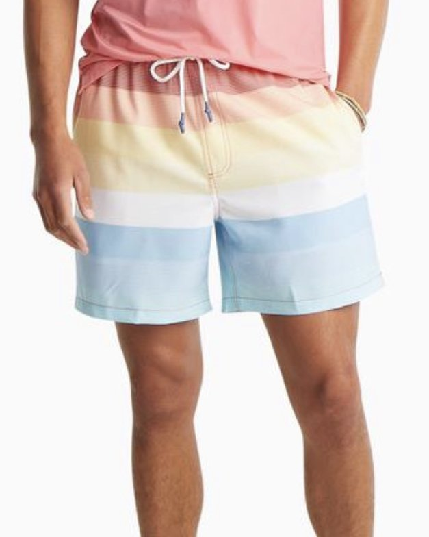 Southern Tide 6 in. Galley Stripe Swim Trunk 5877