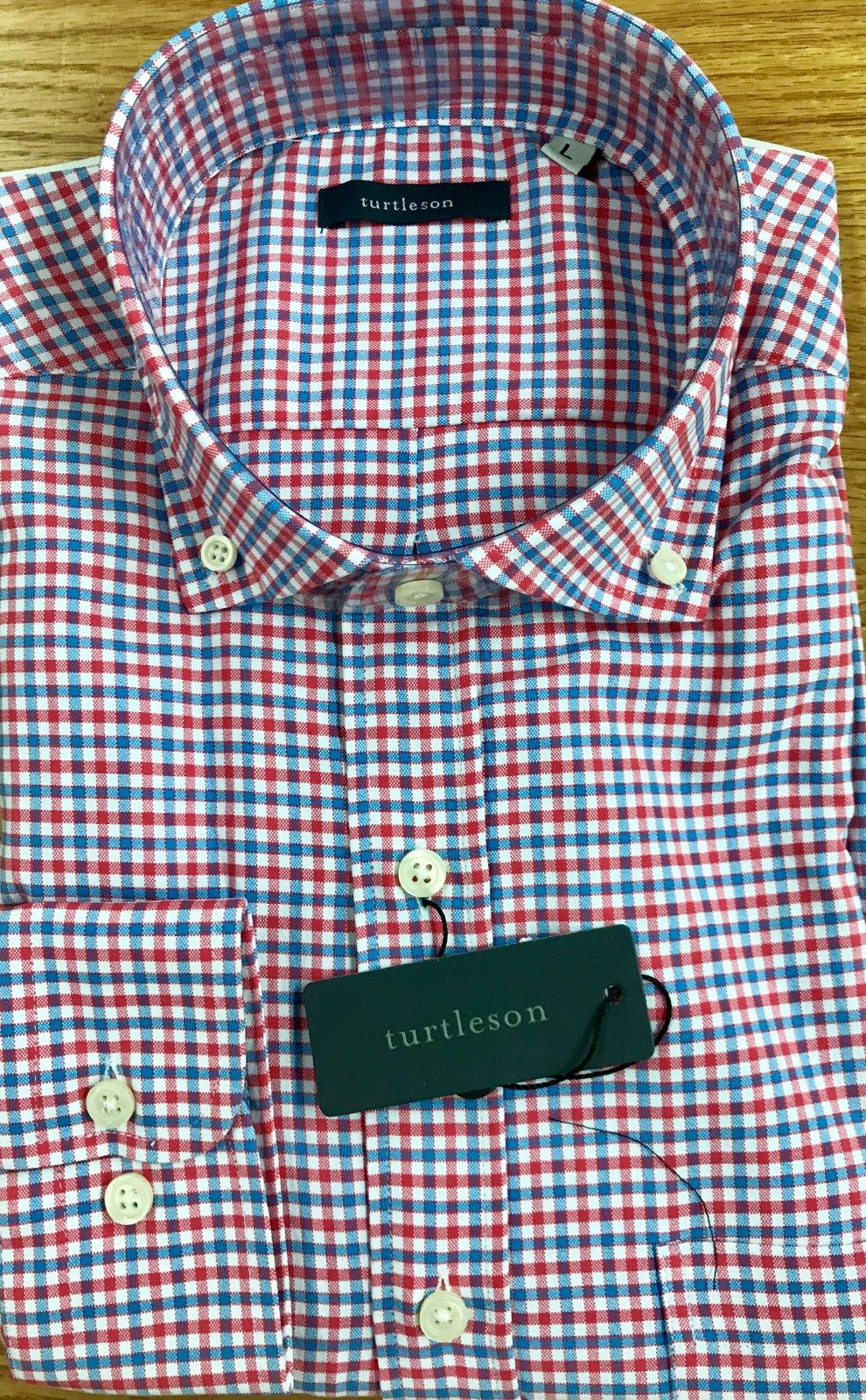 Turtleson Marshall Tattersall Perf. LS Sportshirt MS20W06