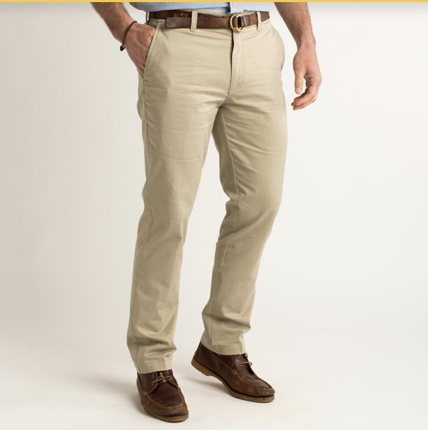 Duckhead Gold School Chino D9-1005 (Khaki)