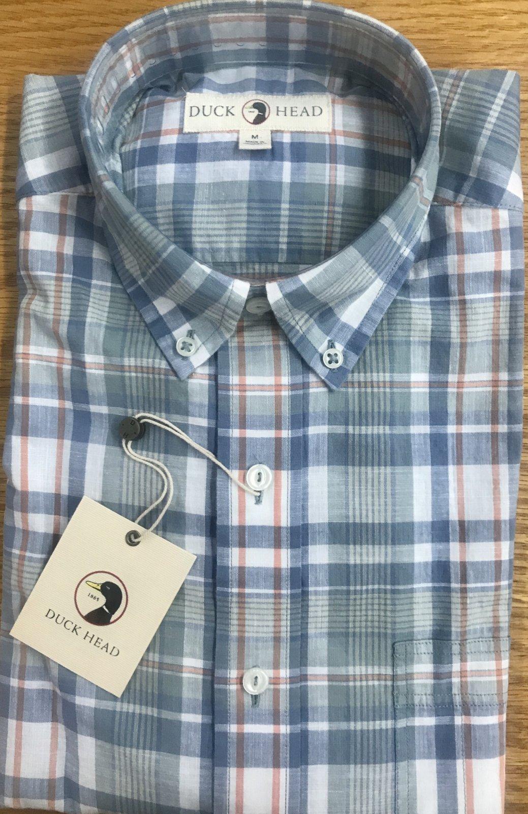 Duckhead Foster Plaid L Shirt D1-1036