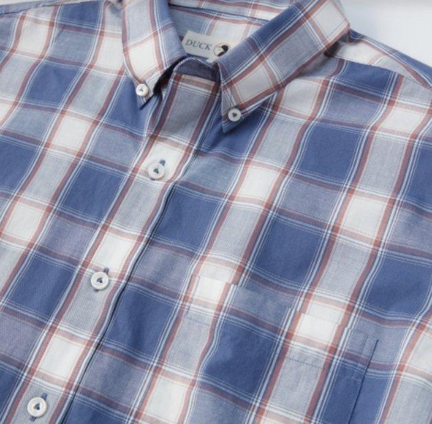 Duckhead Piedmont Plaid Ss. Shirt D1-1015