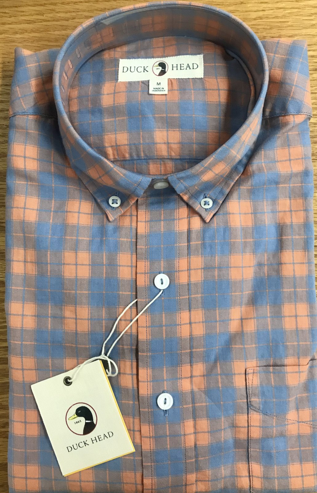 Duckhead D1-1034 Marshfield Plaid Shirt D1-1034