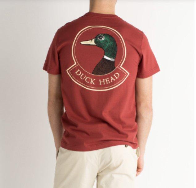 Duckhead Badge SS T-Shirt D2-1005
