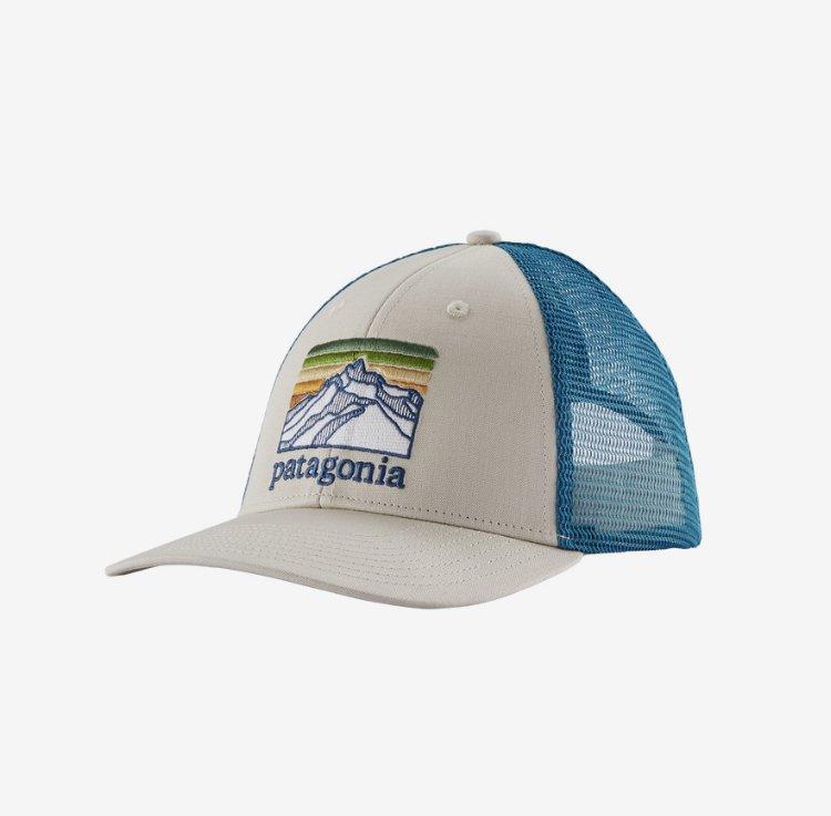 Patagonia Line Logo Ridge LoPro Trucker hat 38285
