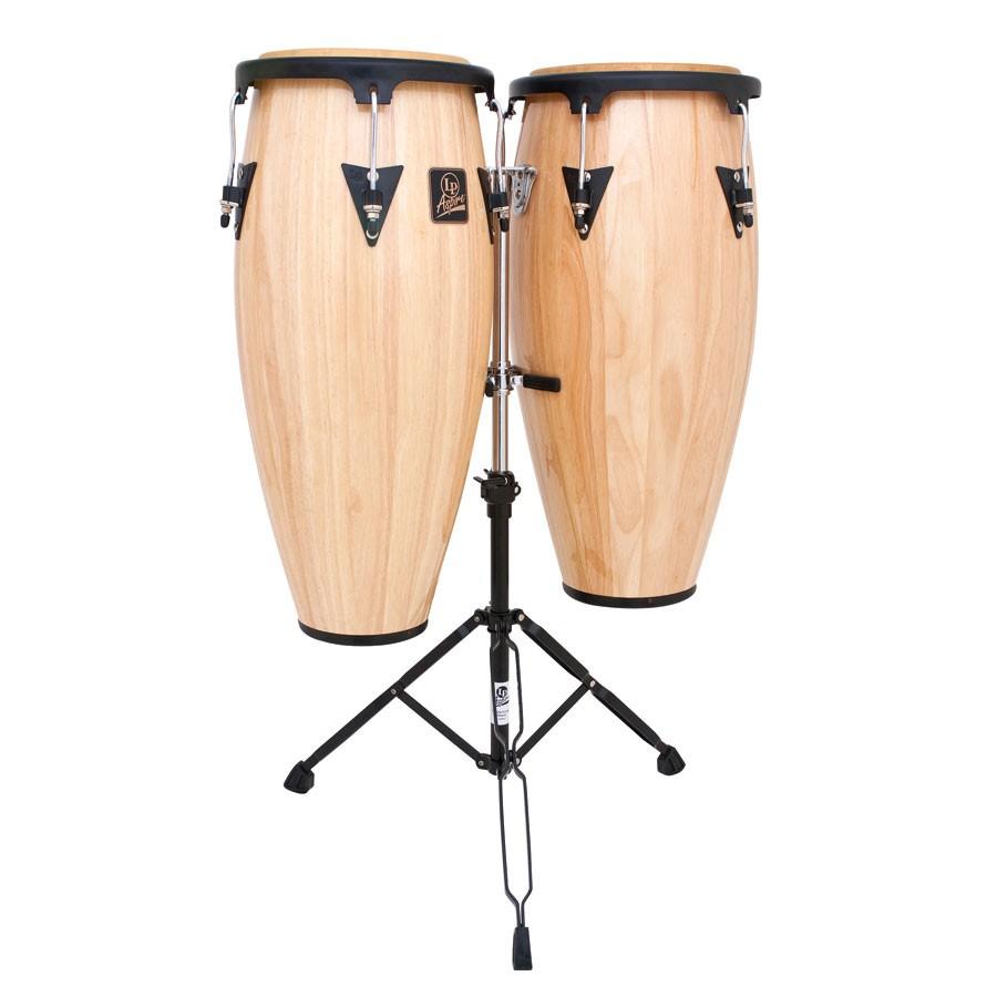 Latin Percussion  Aspire 10 & 11 conga set w/stand