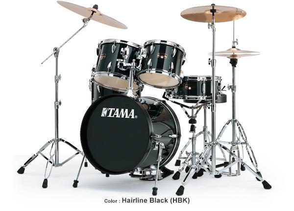 Tama Imperialstar 5pc drum set IP50C - HBK-Hairline Black