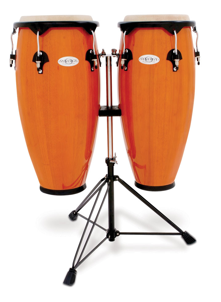 Toca Synergy 10'' & 11'' Congas w Stand 2300