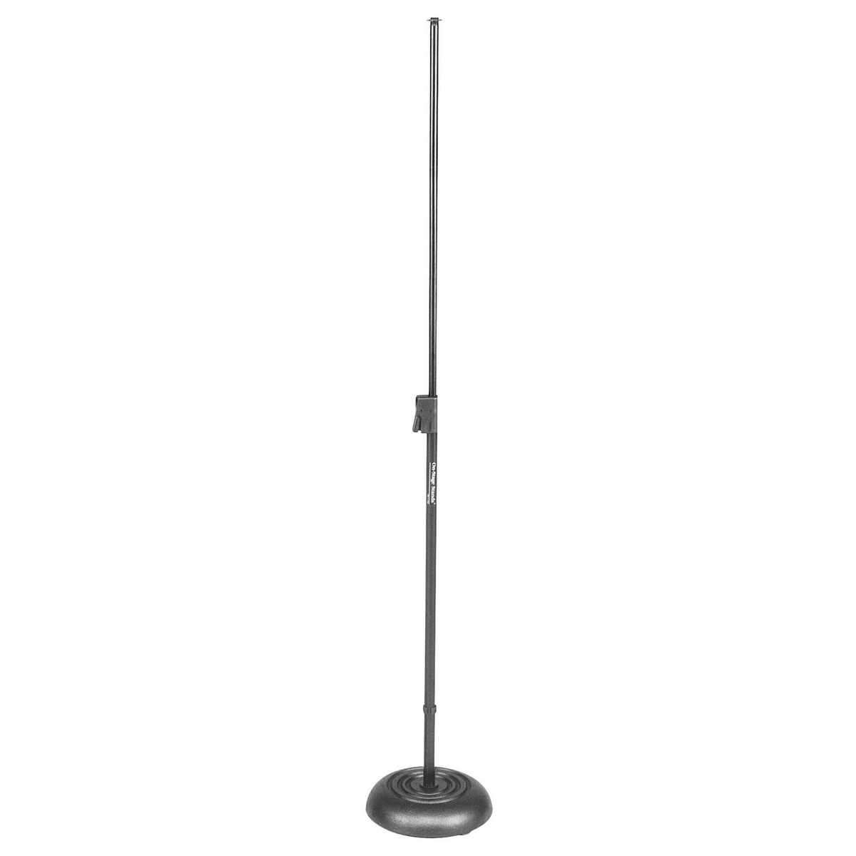 On Stage Round Base Mic Stand MS7201B