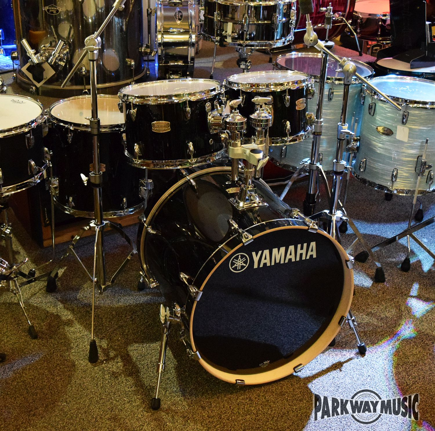 Yamaha Stage Custom Birch 5pc Drum Set w/ Hardware