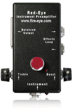 Fire Eye Development Red Eye Musical Instrument Preamplifier