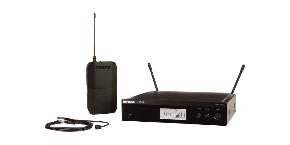 Shure BLX14R/W93 Lavalier Wireless System (Rackmountable)