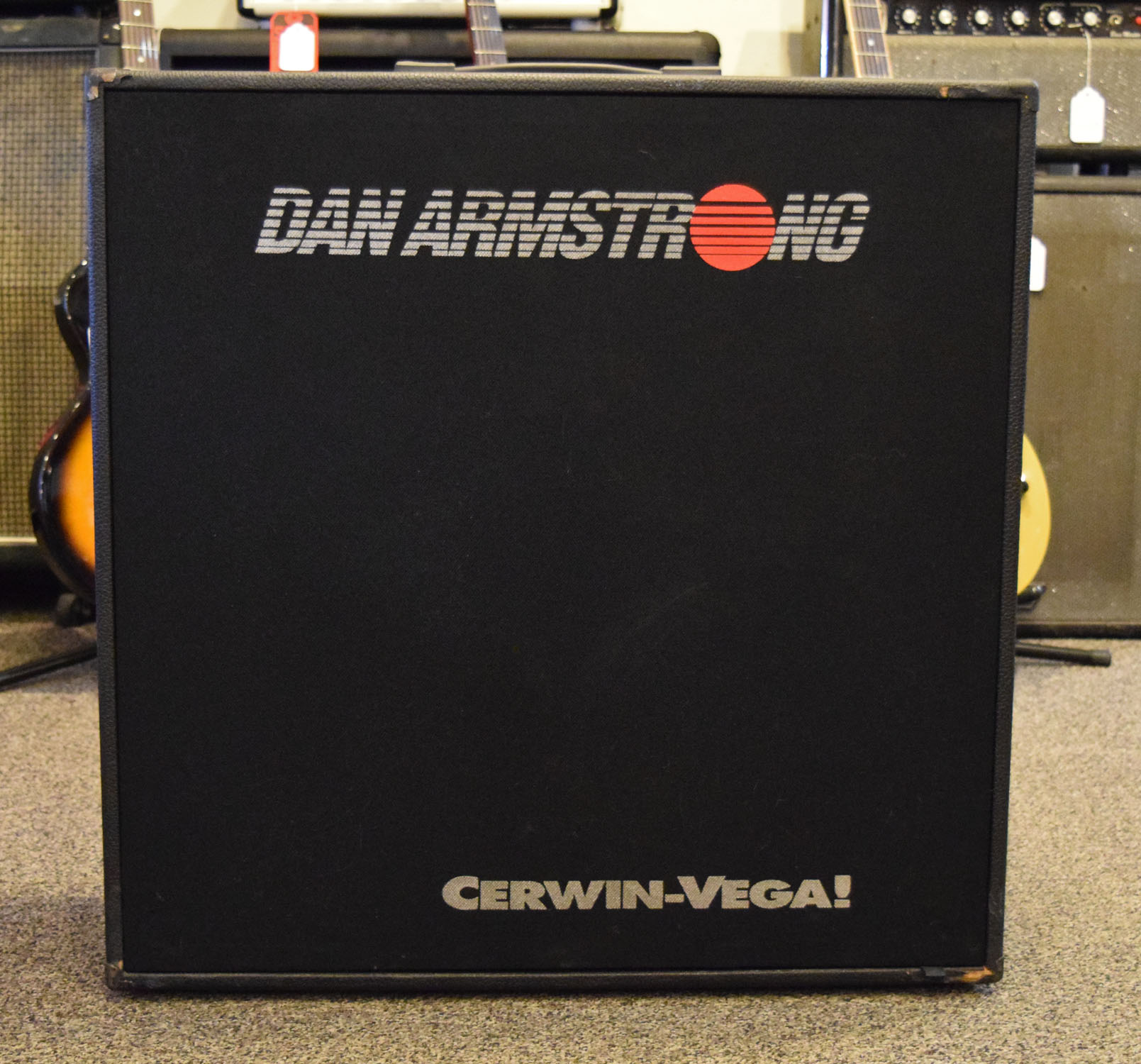 Dan Armstrong 412G Cabinet Cerwin Vega Speakers (USED) - HOLD