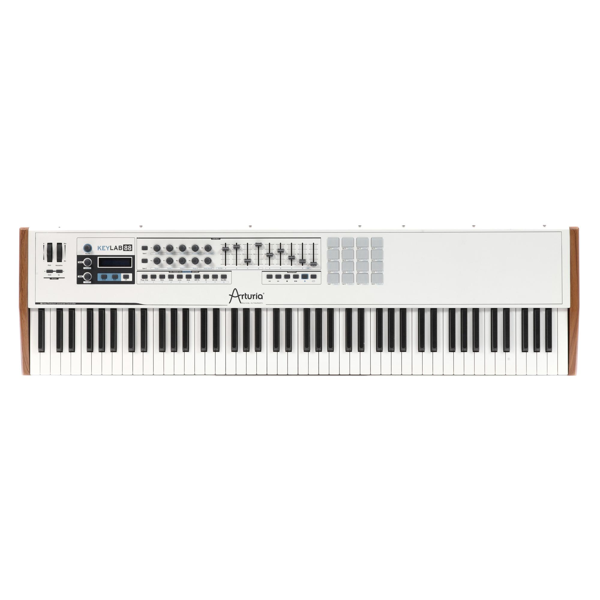 Arturia KeyLab 88 Note Hammer Action MIDI Keyboard