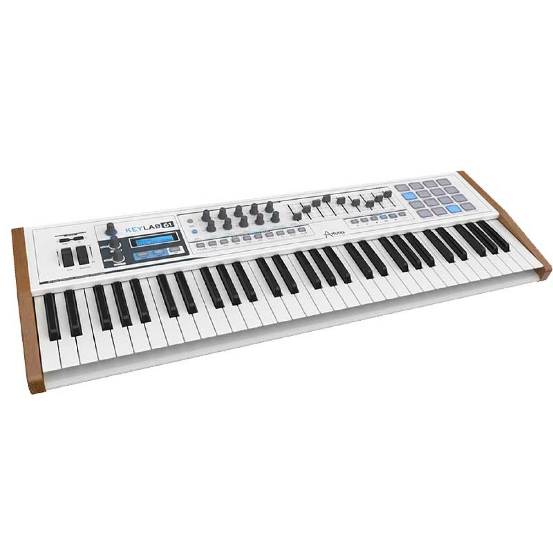 Arturia KeyLab 61 Note MIDI Keyboard w Software