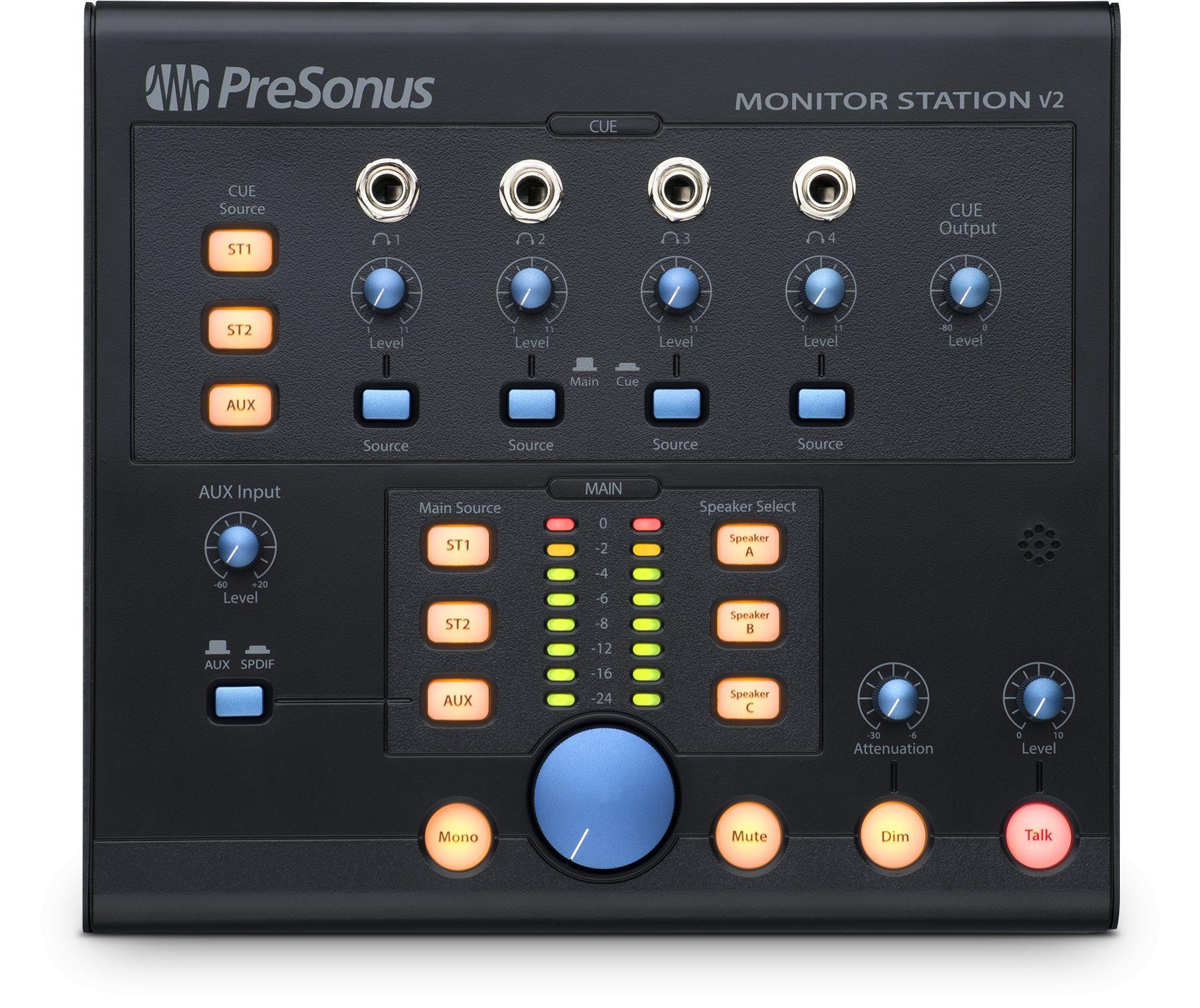 PreSonus Monitor Station V2 Desktop Monitor Controller