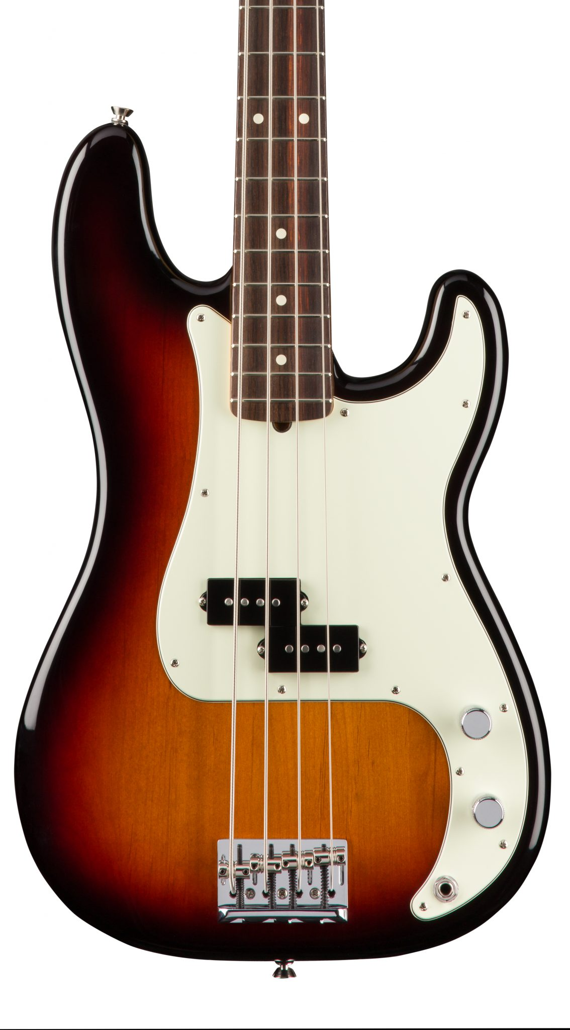 Fender American Professional Precision Bass - 3 Color Sunburst with Rosewood Fingerboard