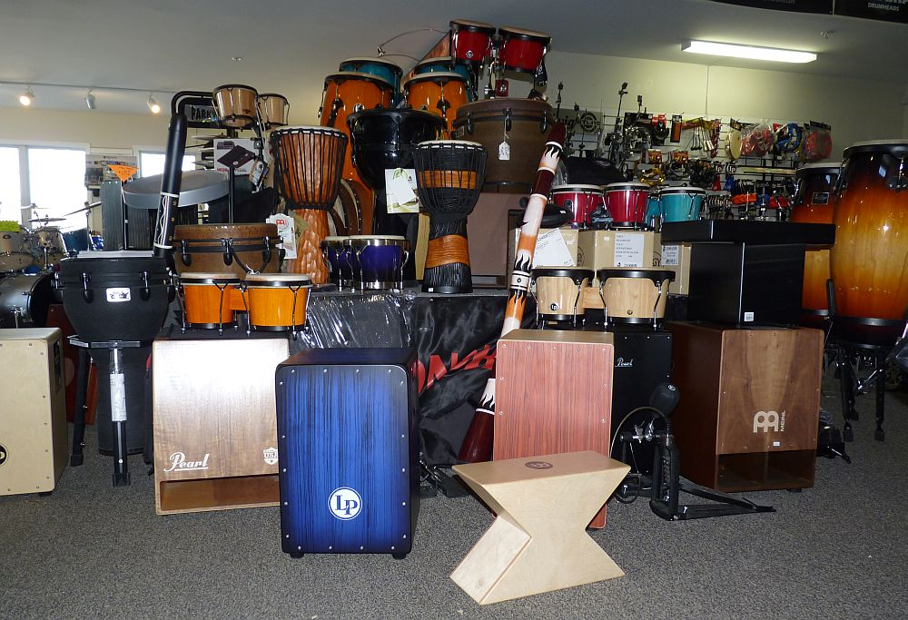 Hundreds of percussion items in stock !