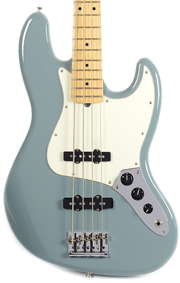 Fender American Professional Jazz Bass - Sonic Gray with Maple Fingerboard