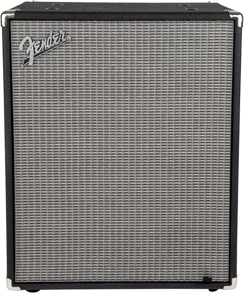 Fender Rumble 210 Cabinet - Black and Silver