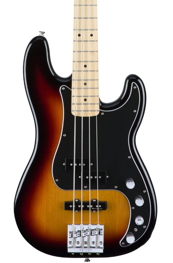 Fender Deluxe Active Precision Bass Special - 3 Color Sunburst with Maple Fingerboard