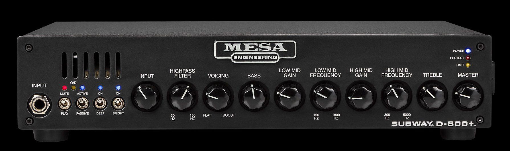 Mesa Boogie Subway D-800 +