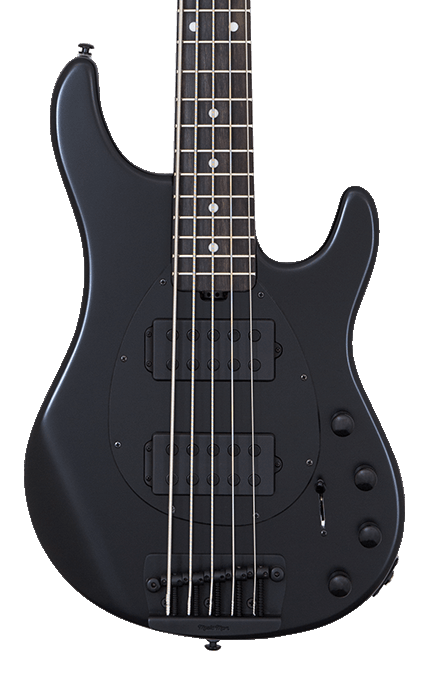 Ernie Ball Music Man Sterling 5HH - Stealth Black with Ebony Fingerboard