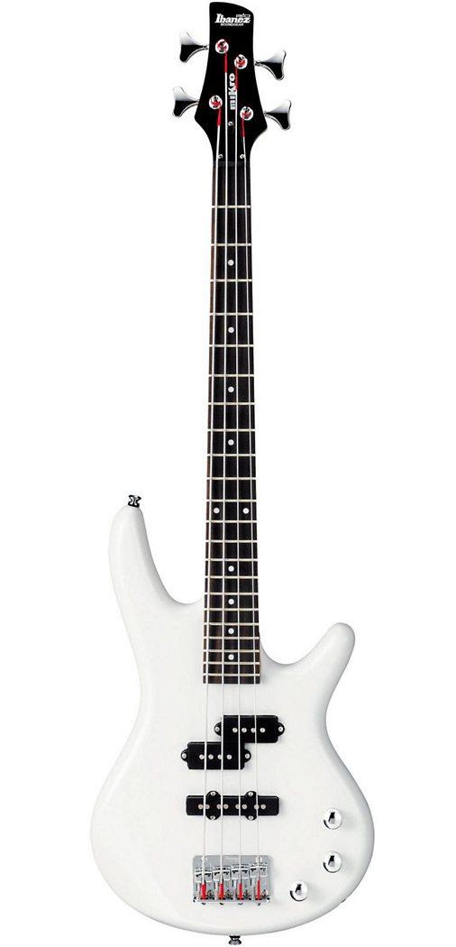 Ibanez GSRM20 miKro Bass - PW (Pearl White)