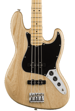 Fender American Pro Jazz Bass Ash - Natural with Maple Fingerboard