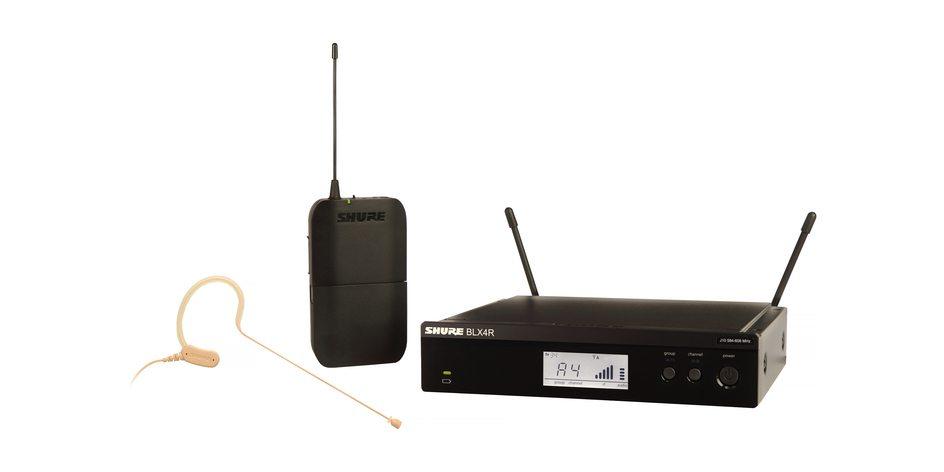 Shure BLX14R/MX153 Headworn Wireless System (Rackmountable)