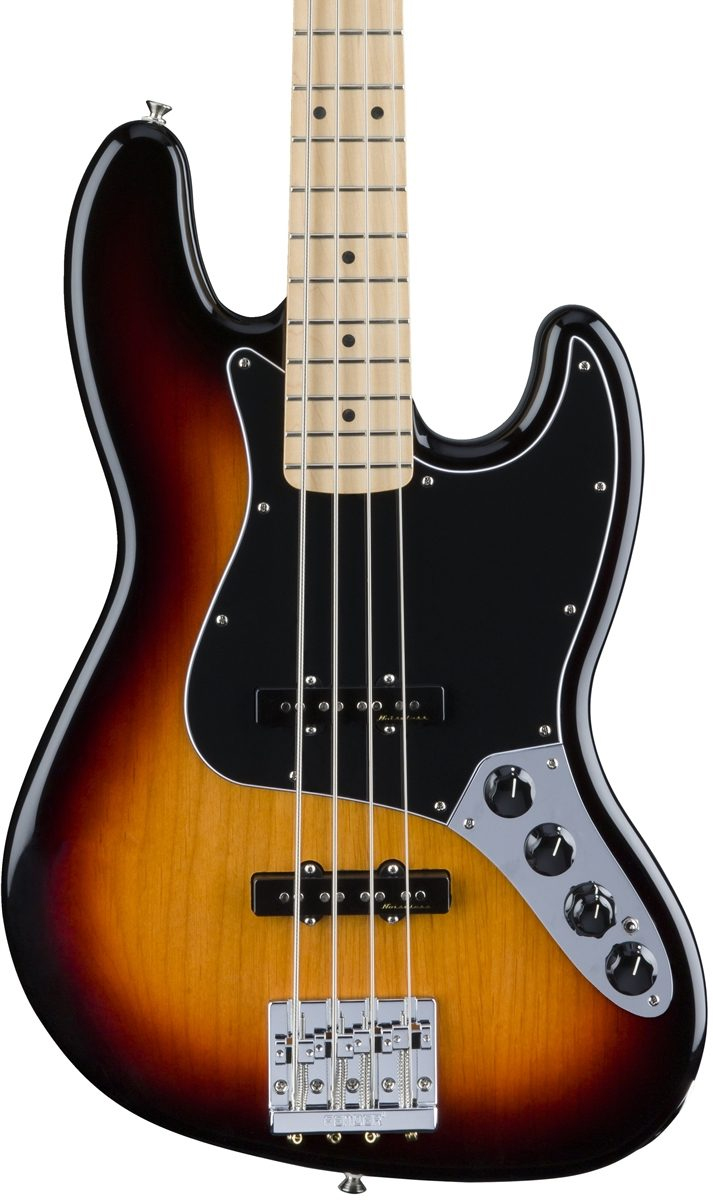 Fender Deluxe Active Jazz Bass - 3 Color Sunburst with Maple Fingerboard
