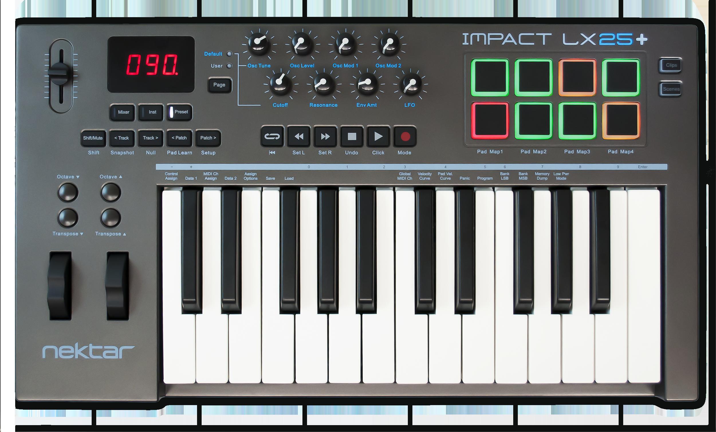 Nektar Impact LX25  MIDI Keyboard Controller
