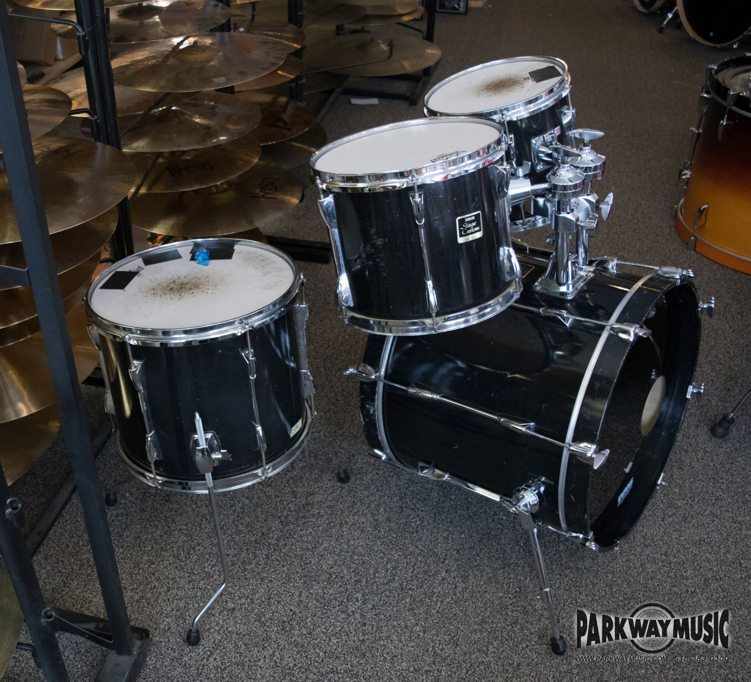 Yamaha Stage Custom Drum Set (USED)