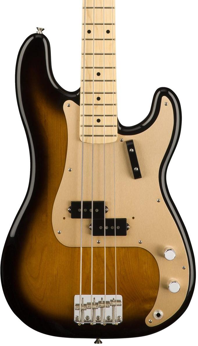Fender American Original 50's Precision Bass - 2 Color Sunburst with Maple Fingerboard