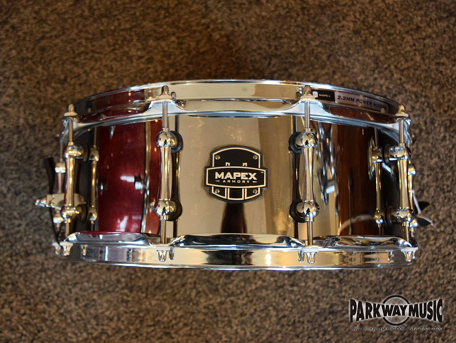 Mapex Tomahawk Stainless Steel 14 x 5.5'' (USED)