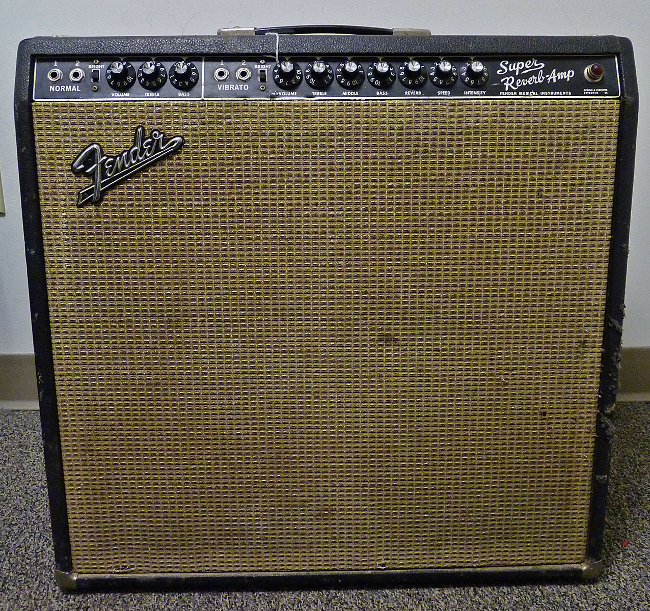 Fender Super Reverb Amp 1967 (USED)