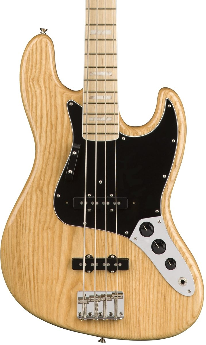 Fender American Original '70s Jazz Bass - Natural with Maple Fingerboard