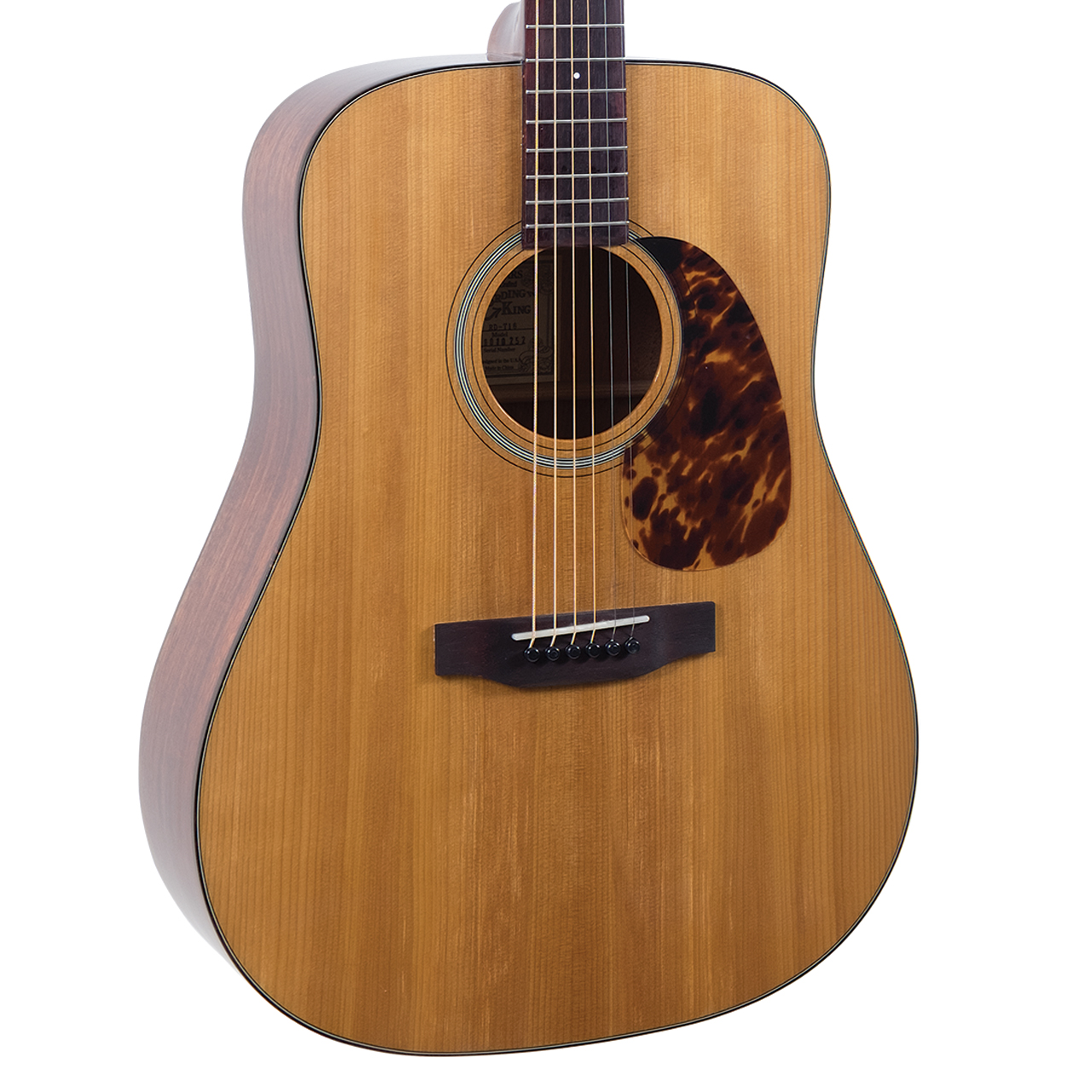 RD-T16 Recording King Torrefied Adirondack Spruce Top - Dreadnought