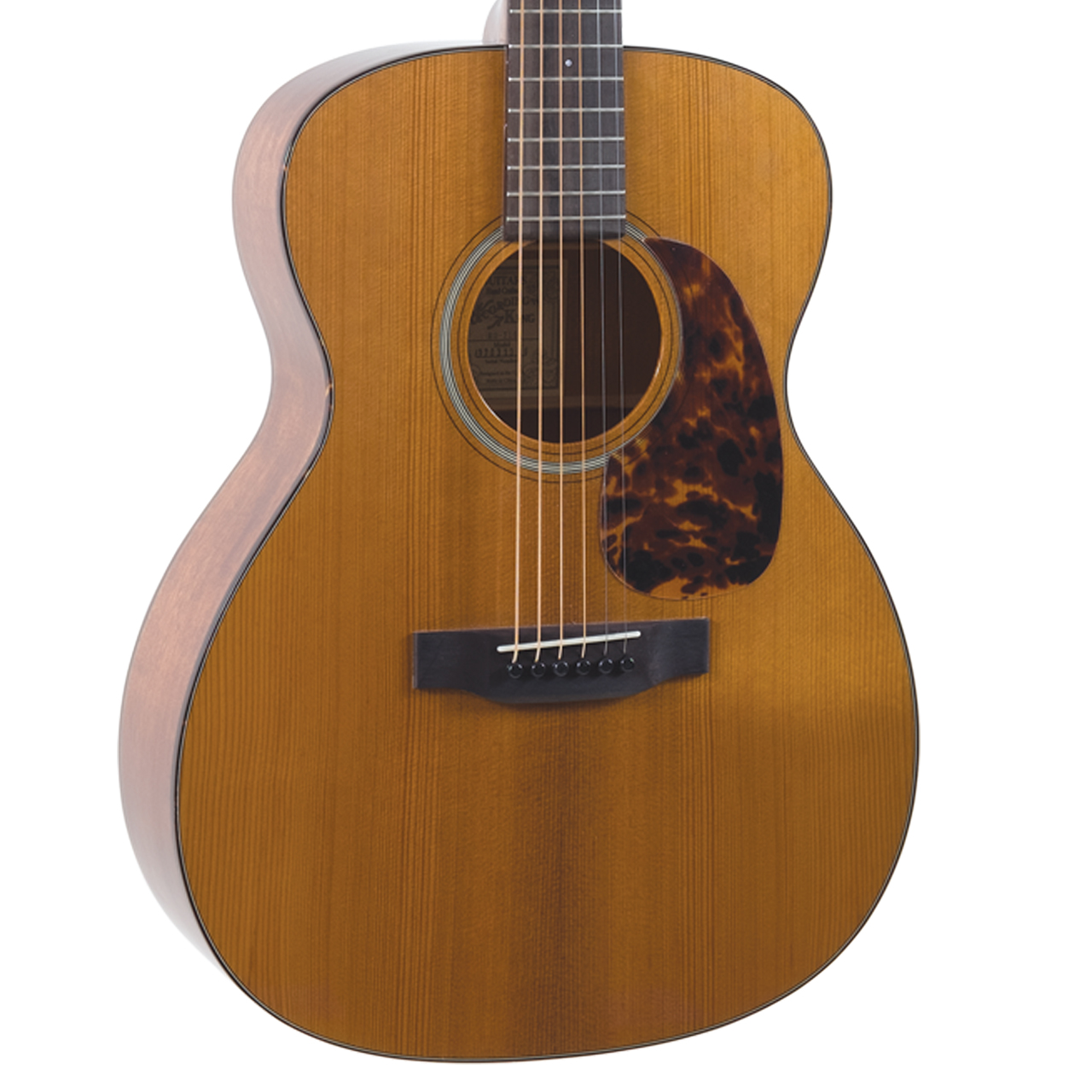 RO-T16 Recording King Torrefied Adirondack Spruce Top - 000