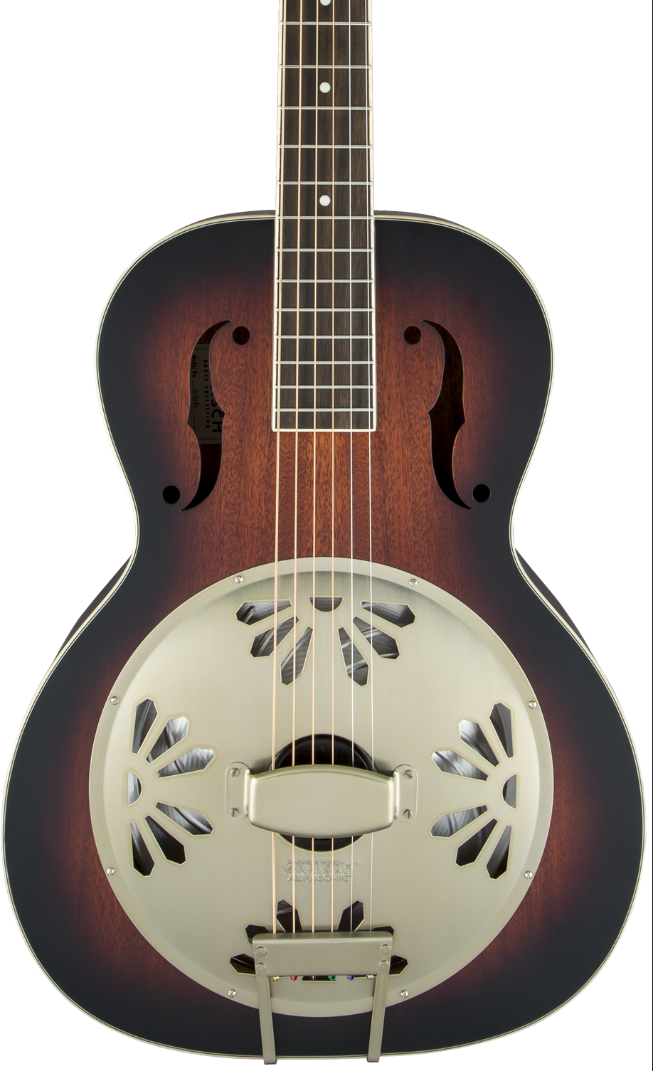 Gretsch G9241 Alligator Biscuit Round-Neck Resonator