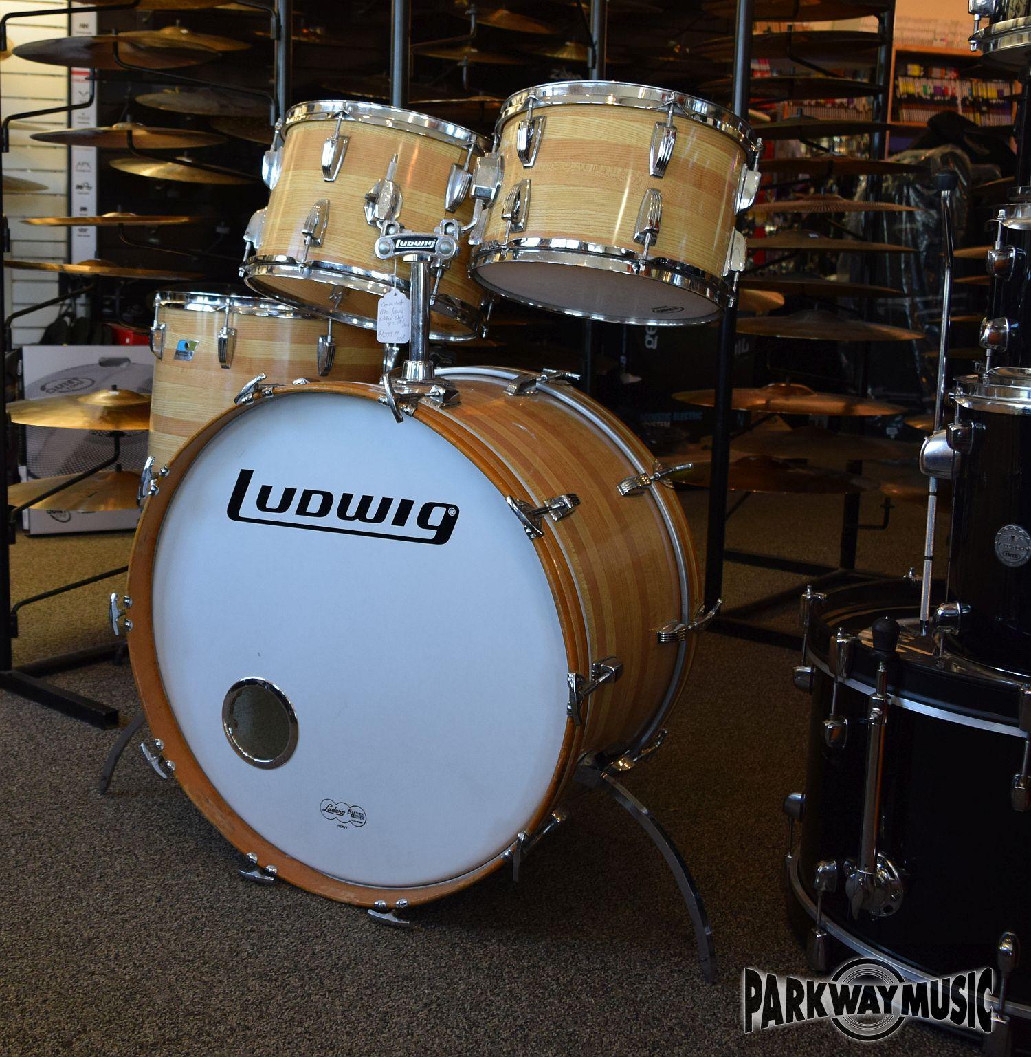 Ludwig Vintage Butcher Block Drum Set 1970's (USED) SOLD