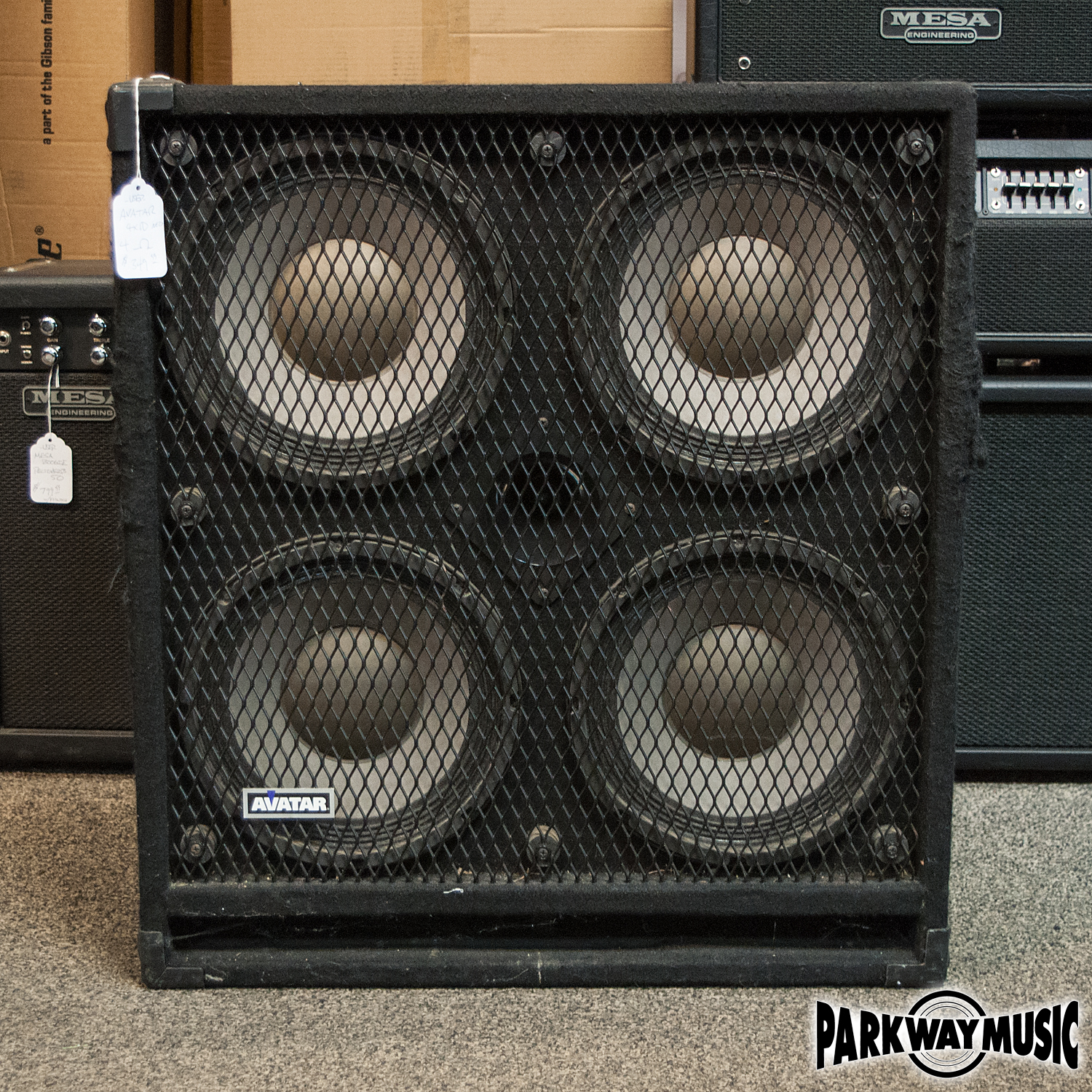 Avatar B410 Deltalites 4x10 Bass Cab (USED)