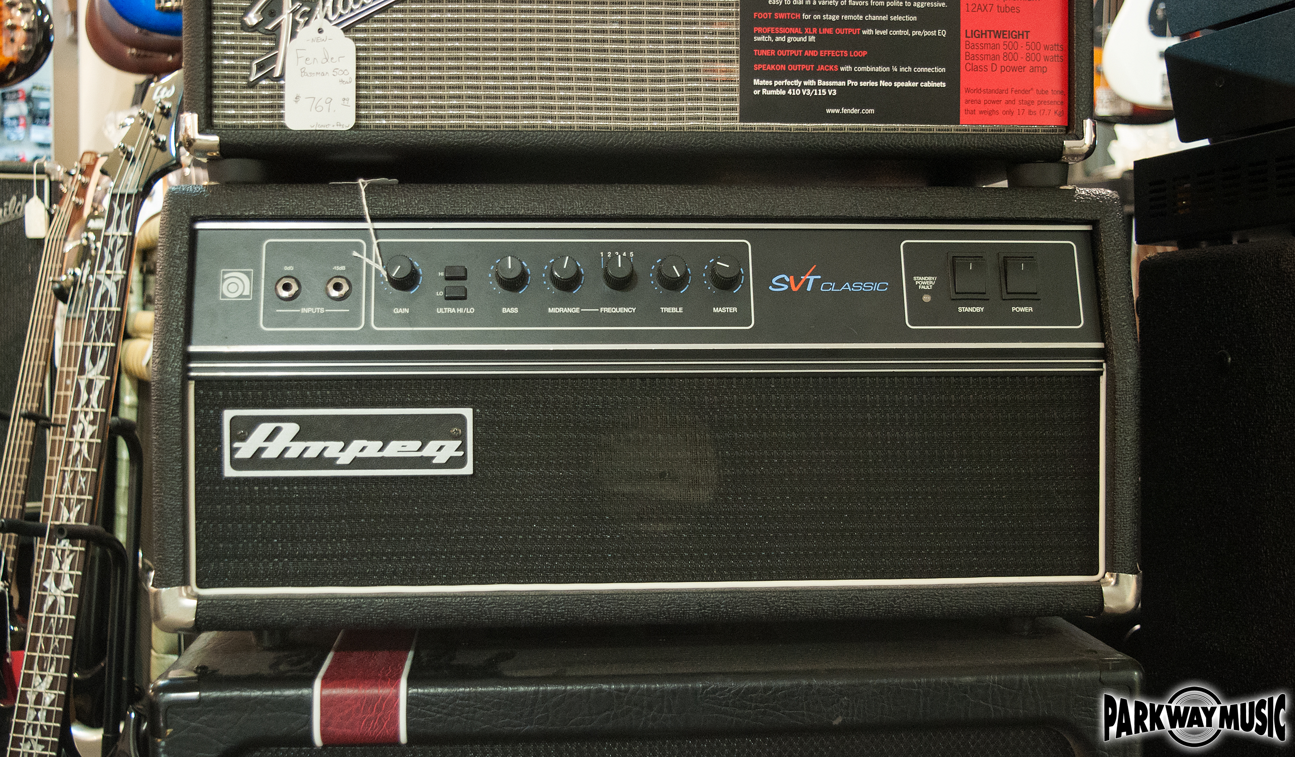 Ampeg SVT Classic USA MADE (USED)
