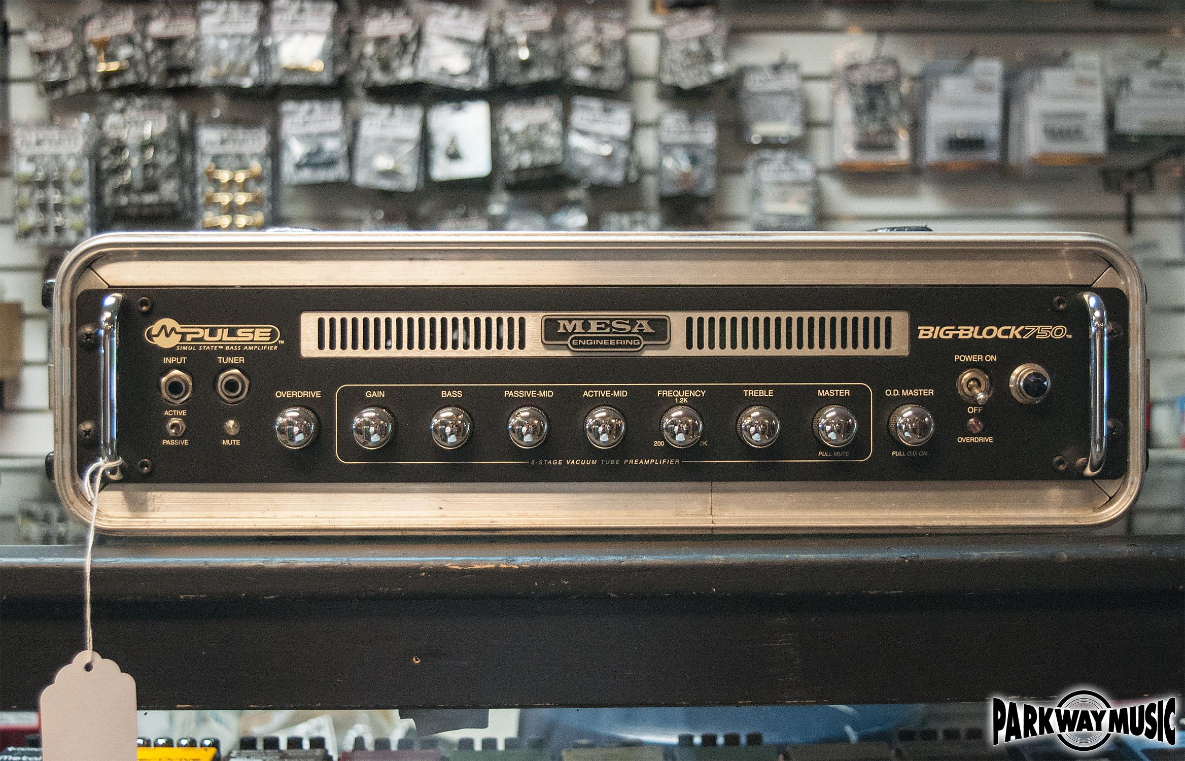 Mesa Boogie Big Block 750 Head (USED)