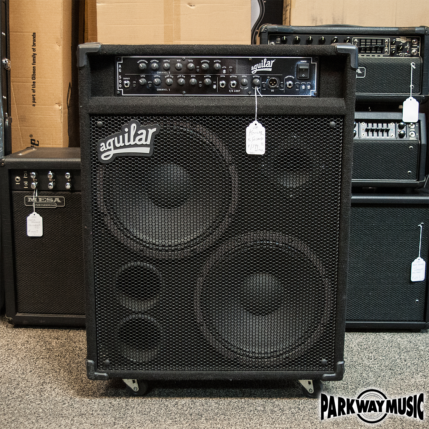 used and vintage bass amps