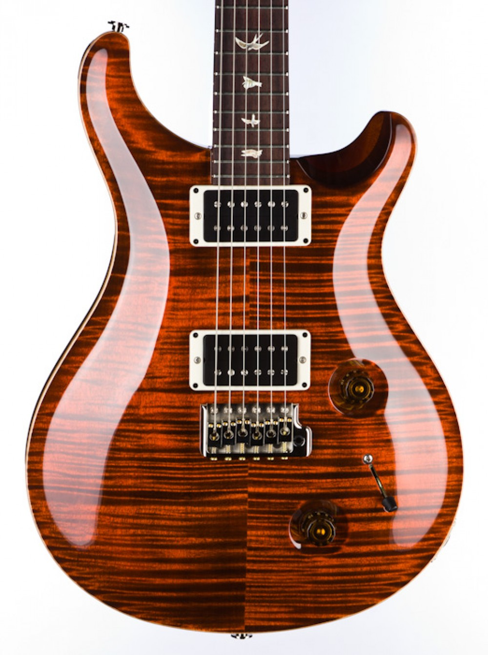 PRS Custom 22 - Orange Tiger